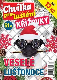 Chvilka pro luštění Křížovky č. 12 / 2018