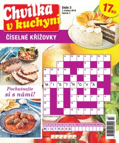 Chvilka v kuchyni Číselné křížovky č. 3 / 2019