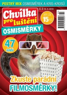 Chvilka pro luštění Osmisměrky č. 3 / 2019
