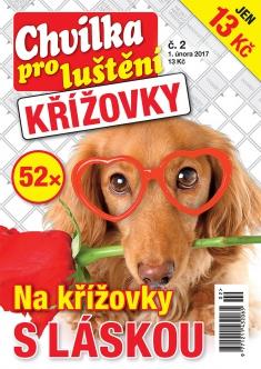 Chvilka pro luštění Křížovky č. 2 / 2017