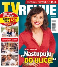 TV Revue č. 17 / 2018
