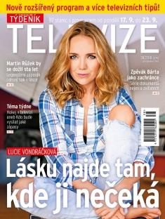 Týdeník Televize č. 38 / 2018