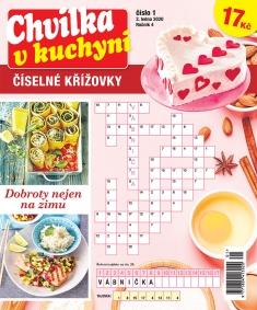 Chvilka v kuchyni Číselné křížovky č. 1 / 2020