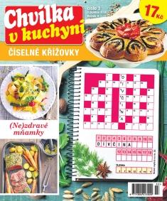 Chvilka v kuchyni Číselné křížovky č. 3 / 2020