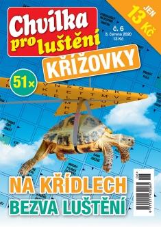 Chvilka pro luštění Křížovky č. 6 / 2020