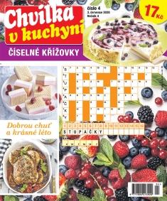 Chvilka v kuchyni Číselné křížovky č. 4 / 2020