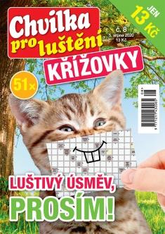 Chvilka pro luštění Křížovky č. 8 / 2020