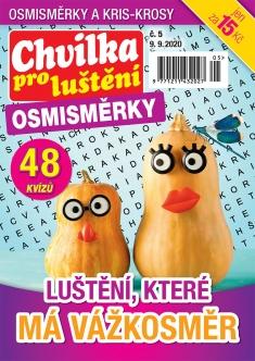 Chvilka pro luštění Osmisměrky č. 5 / 2020
