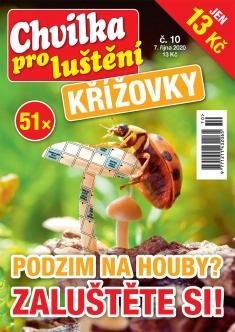 Chvilka pro luštění Křížovky č. 10 / 2020