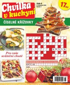 Chvilka v kuchyni Číselné křížovky č. 6 / 2020