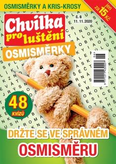 Chvilka pro luštění Osmisměrky č. 6 / 2020