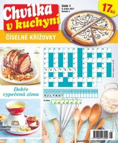 Chvilka v kuchyni Číselné křížovky č. 1 / 2021