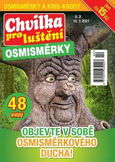 Chvilka pro luštění Osmisměrky č. 2 / 2021