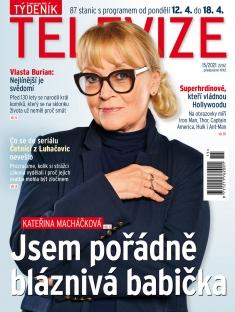 Týdeník Televize č. 15 / 2021