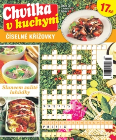 Chvilka v kuchyni Číselné křížovky č. 3 / 2021
